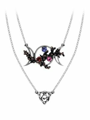 Stunning Official Alchemy Gothic ~ Harbinger ~ Pewter Pendant Necklace