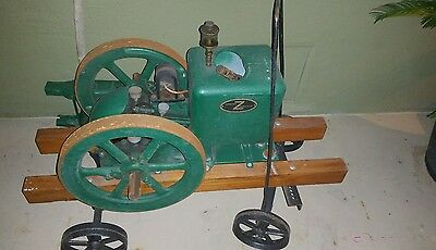 Hit & Miss Engine FAIRBANKS MORSE 1 1/2 HP Z Engine American History