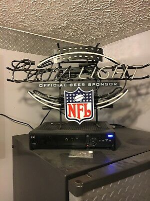 Coors Light/NFL Neon Sign