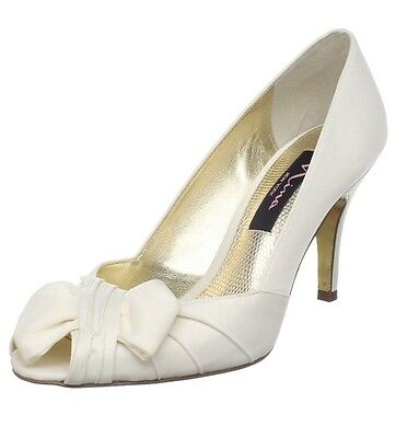 Nina Bridal Women's Forbes Special Occasion Ivory Luster 7 UK 9 US