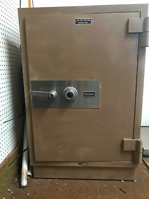 """Mosler Safe / Vault, 3'5"""" Tall, Thick walls, burglary resistant, with coin tray"""