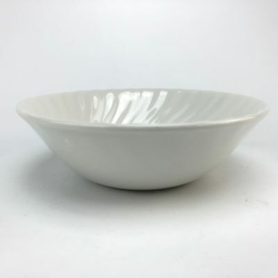 Johnson Brothers Regency White Coupe Cereal Bowl Swirl Ironstone England