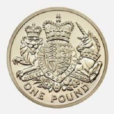 2015 £1 Coin One Pound 5Th Fifth Portrait Jody Clark Rare Uncirculated