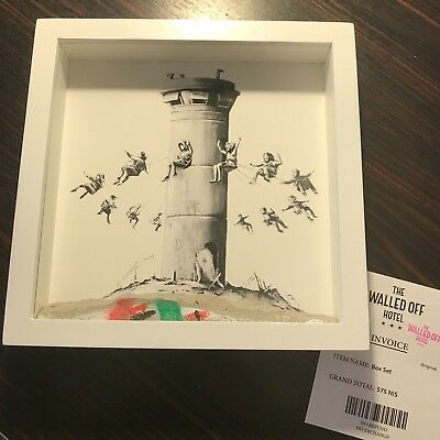 Banksy Walled Off Hotel Box Set incl. Receipt