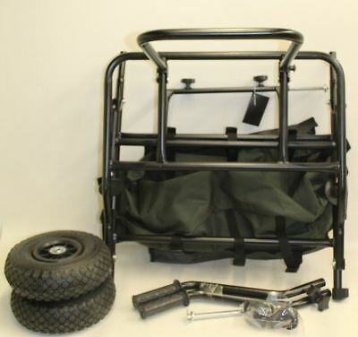 NEW ULTIMATE XL Carp Strong Frame Compact Transport Profile Tyre Trolley