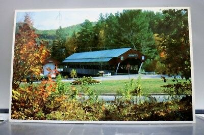 New Hampshire NH Jackson Covered Bridge Postcard Old Vintage Card View Standard