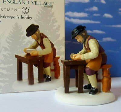 Dept 56  New England Village THE LIGHTKEEPER'S HOBBY!   New