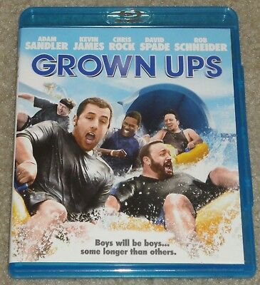 Adam Sandler Grown Ups Blu-ray disc