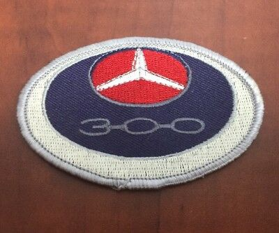 New Vintage VTg MERCEDES BENZ Club 300 300d 300SL Adenauer Gullwing Patch Badge