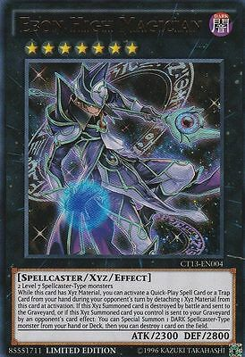 EBON HIGH MAGICIAN - (CT13-EN004) - Ultra Rare - Limited - Yu-Gi-Oh Mega Tin