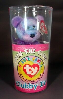Chubby IV Beanie Baby in original package - never opened BRAND NEW