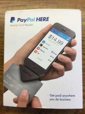 PayPal Here Mobile Card Reader for iPhone & Android Mobile Devices Looks New