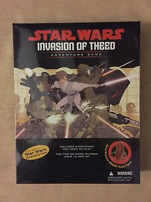 WIZARDS OF THE COAST Star Wars Invasion of Theed Adventure Game D20 WOTC 2000 MT