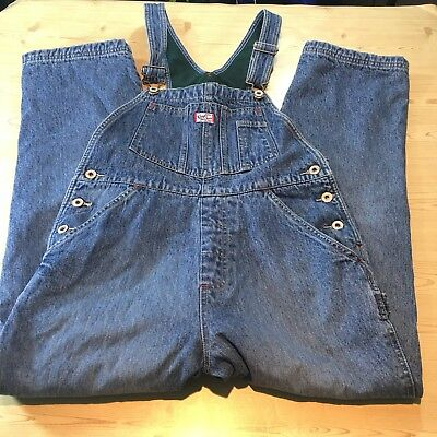 GAP Flannel-Lined Jeans overalls Kids Girls/Boys Unisex XL Warm