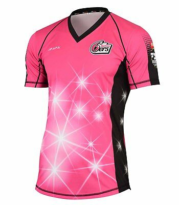 New Style Big Bash Sydney Sixers Replica Shirt Jersey 2017-18
