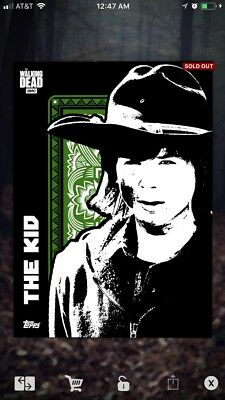 Topps The Walking Dead Card Trader The Kid Carl Grimes Digital