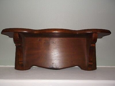Antique Victorian Style Vintage Wood Wall Shelf