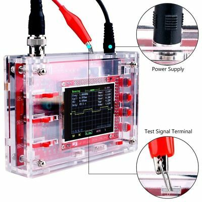 """Fully Welded Assembled DSO138 2.4"""" TFT Digital Oscilloscope (1Msps) + Probe IS"""