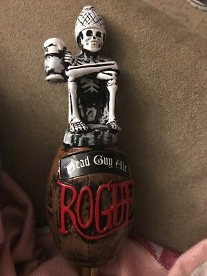 Dead Guy Ale Rogue Beer Skeleton Tap Handle New