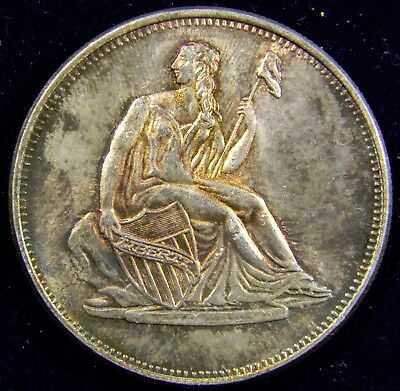 Beautiful .999 Fine  Silver Round with Seated Liberty & Indian Head Cent Themes