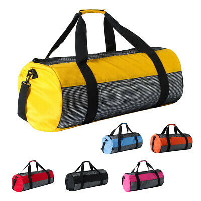 Scuba Dive Gear Diving Snorkel Fins Kayak Hiking Canoe Camping Mesh Travel Bag