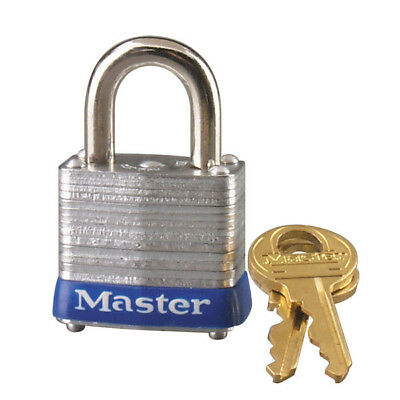 Master Lock 7KA-P605 Keyed Alike Laminated Steel Padlock, 1-1/8""