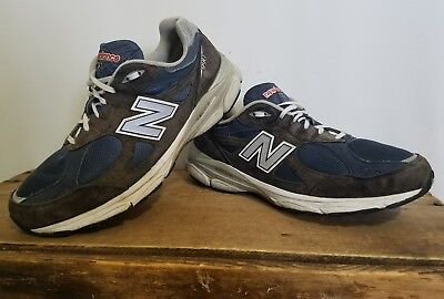 the latest dbc21 71809 New Balance 990 Mens 11.5 4E Navy heritage collection made in USA suede  grey #S1