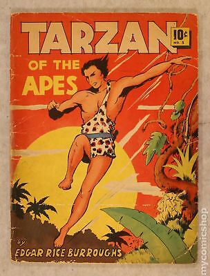 Tarzan Large Feature Comic #5 1939 FR/GD 1.5