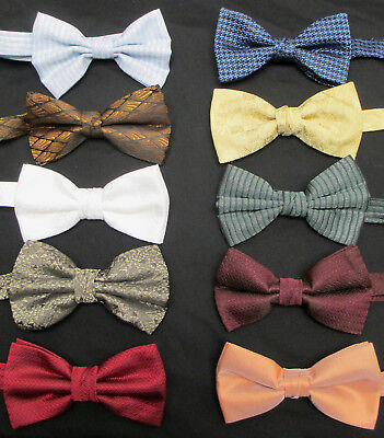 Lot of *100* Mens Pre-Tied Bow Ties Theater Costume Stage Resell CHEAP DISCOUNT