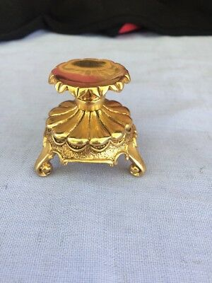 "House Of ""Faberge"" Decorative Egg "" Holder"" Gold Tone"