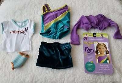 American Girl Doll of the year 2012 McKenna Practice Gymnastic Wardrobe Outfit: