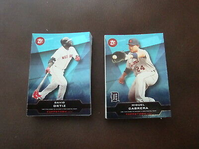 2011 Topps Series 1 Ticket to Topps Town complete insert set. 1-50