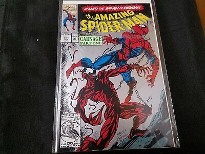 Marvel the Amazing Spider-Man #361 (CARNAGE 1st) 2nd Print Silver Cover