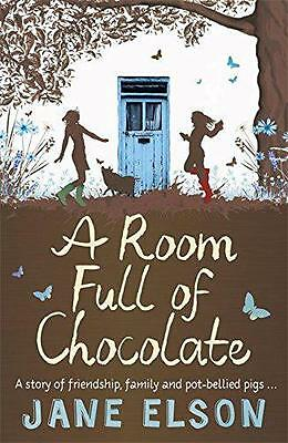 A Room Full of Chocolate by Elson, Jane   Paperback Book   9781444916751   NEW