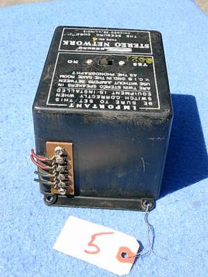 Seeburg DS100 DS160 Stereo Network type SN-4