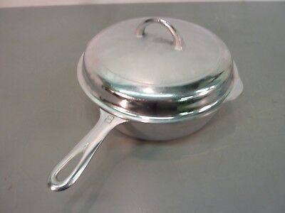 GRISWOLD 8 Cast Iron 777 SKILLET CHICKEN PAN w/ 1098 B LID Deep Fry Frying Fryer