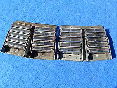 1946-1948 Seeburg 146 147 148 Selection Buttons with Frame Assembly - one set
