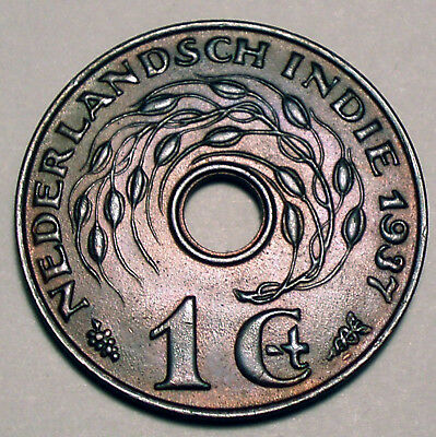 Netherlands East Indies 1 Cent 1937 E11.1