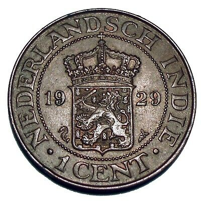Netherlands East Indies 1 Cent 1929 E11.2