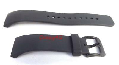 Genuine OEM Samsung Gear S2 Band Replacement Strap Large Dark Grey For SM-R720