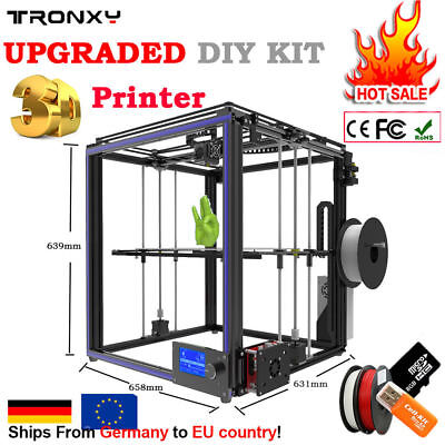 TRONXY X5S High Precision DIY Aluminum 3D Printer Kit Large Printing Size Reprap