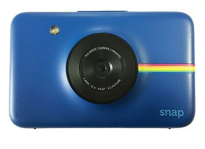 Polaroid Snap Instant Print 10.0MP Digital Camera ONLY - Blue - Used - Read