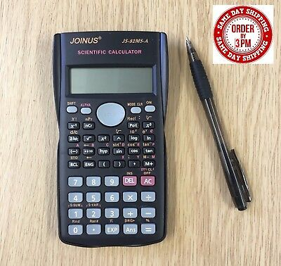 Top Quality 2 Line display scientific calculator for school exams home