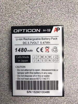Opticon H-19 Li-ion Rechargeable Battery Pack