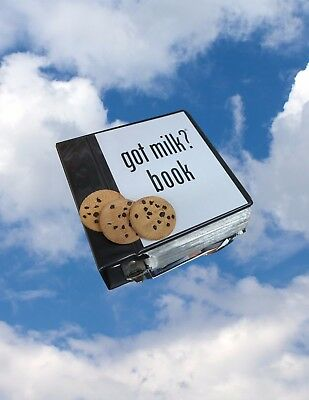 Rob Pruitt's Flea Market: Collection of 'Got Milk?' Ads book and 3 Fake Cookies