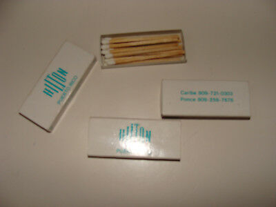 Puerto Rico Hilton Ponce Caribe  Matchbox Wooden Matches