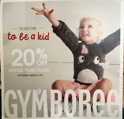 Gymboree 20% Off Code Exp. 01/31/18
