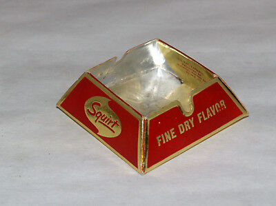 Vintage Advertising Drink Squirt Soda Pop Paper Ash Tray Ashtray
