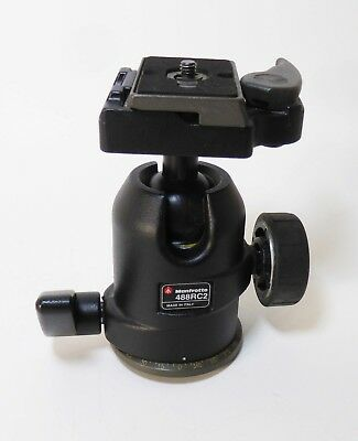 Manfrotto 488RC2 Midi Ball Tripod Head With RC2 Rapid Connect System