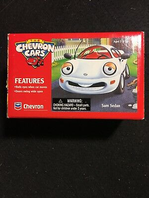 1996 The Chevron Cars Sam Sedan 1/43 White Never Out Of Box Mint Condition